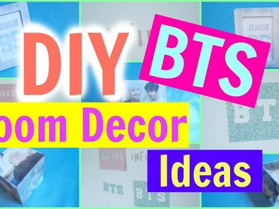 DIY KPOP. BTS Room Decor Ideas | KpopStyled