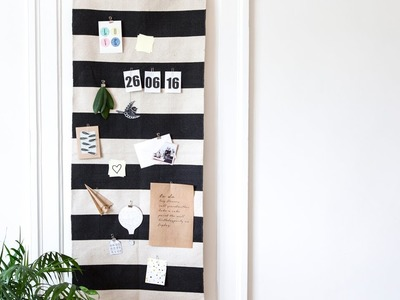 DIY: Make a bulletin board by Søstrene Grene