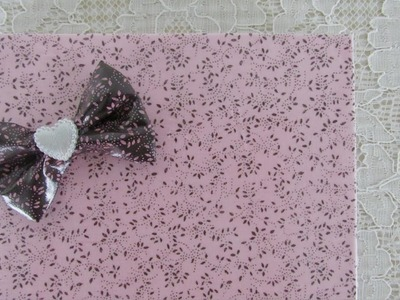 DIY - Make waterproof fabric and use it to cover your notebook!
