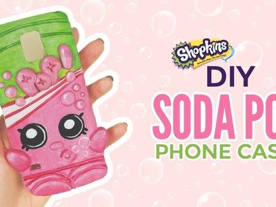 DIY Shopkins Soda Pop Phone Case