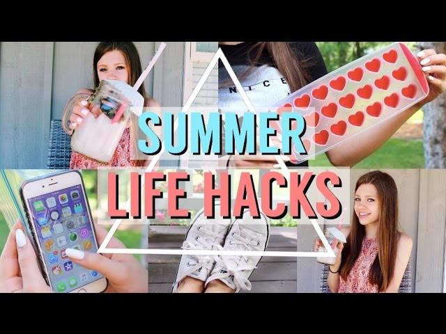 DIY Summer Life Hacks!