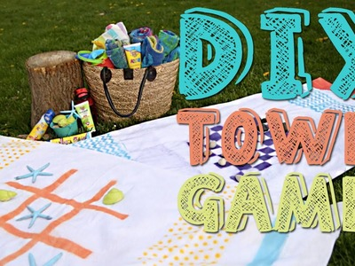 DIY Summer Towel Games | Kids Outside The Box
