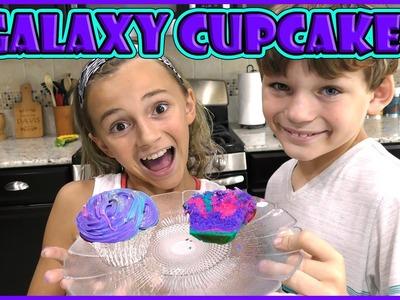 GALAXY CUPCAKE DIY | We Are The Davises