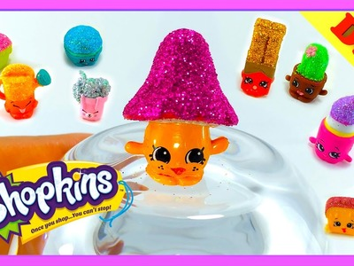 Make your own Glitter Shopkins - DIY  Ultra Rare Season 5, 4 and 3 Shopkins - NEW Craft Video PART 1