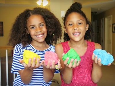 Making Homemade Play-Doh | DIY
