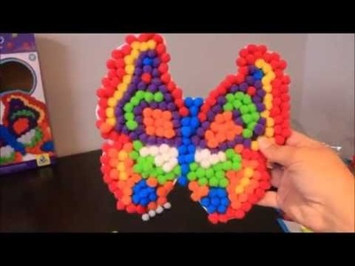 Pom Pom Pictures Butterfly DIY Craft Learning Colours