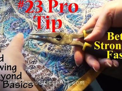 #23 Pro Tip | Hand Sewing: Secrets Beyond Basics | Better, Stronger, Faster | ZSA Tutorials