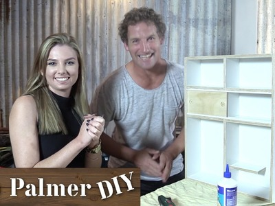 DIY Bedroom Shelf (feat. Rachelleea) | DIY Build