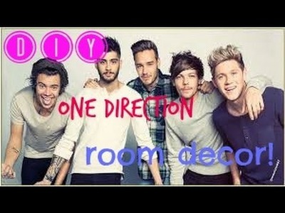 DIY One Direction Room Decor | VianDIY Corner