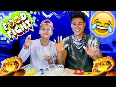 DIY Tasty Buzzfeed Recipes feat. Mark Thomas (Duhitzmark) *FOOD FIGHT*