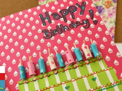 Happy Birthday!!! DIY narozeninové přání