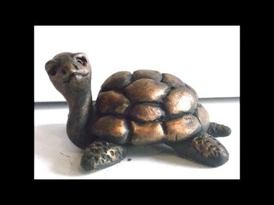 How To Sculpt A Turtle In Polymer Clay