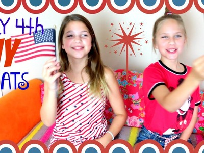 July 4th DIY Treats | 3 snacks to make for a July 4th party! Summer fun Annie & Hope JazzyGirlStuff