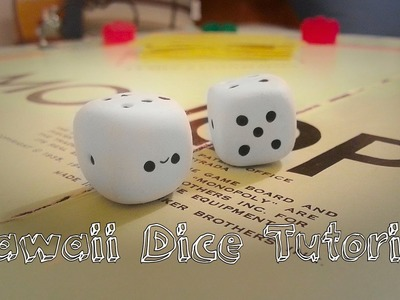 Kawaii Dice - Polymer Clay Tutorial