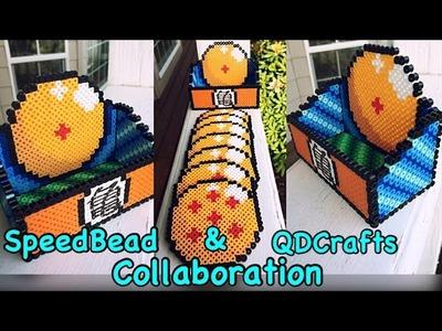 Perler Bead Dragon Ball Z Coaster Set Collab with QDCrafts!!