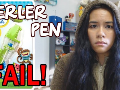 Perler Bead Pen FAIL! My first impressions