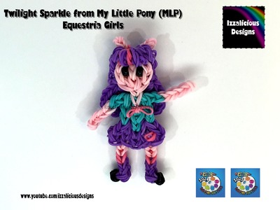 Rainbow Loom Twilight Sparkle My Little Pony Equestria Girl  MLP