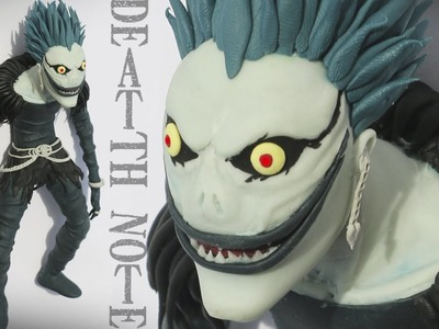 "RYUK DEATH NOTE ""TUTORIAL"" ✔POLYMER CLAY (REUPLOADED)"