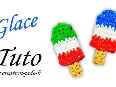 Tuto Rainbow Loom - Glace.Ice-Cream Football Euro 2016 !