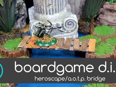 Boardgame DIY #2- Heroscape.Arena of The Planeswalkers Bridge