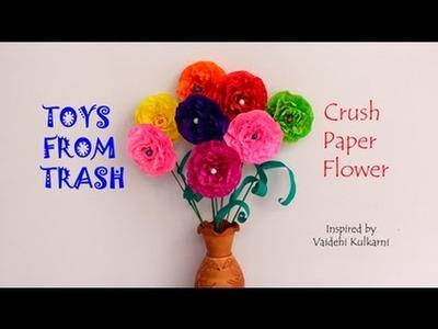 Crush Paper Flowers | English