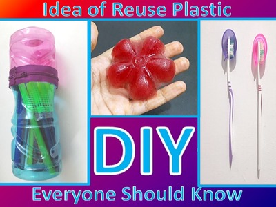 DIY | Another 5 Ideas To Reuse Of Plastic Bottle Do For Save Money Part.2