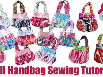 DIY   Doll Handbag. Boho Bag Video Tutorial   Sami Doll Tutorials