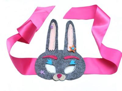 DIY Easter Bunny Mask for Kids