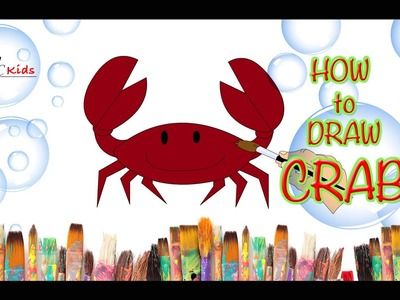 DIY - How to Draw Crab | Creative Art Work | Easy Drawing Steps