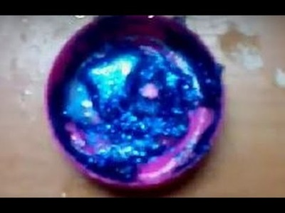 DIY how to make a glitter lipgloss