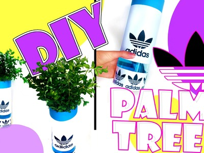 DIY: PALMTREE ADIDAS ROOM DECOR