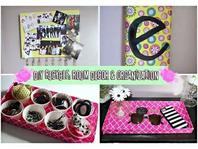 DIY Room Decor & Organization Ideas for Spring!. Recycling Shoe Box Lids