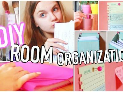 DIY Room Organization + Storage Ideas 2016!