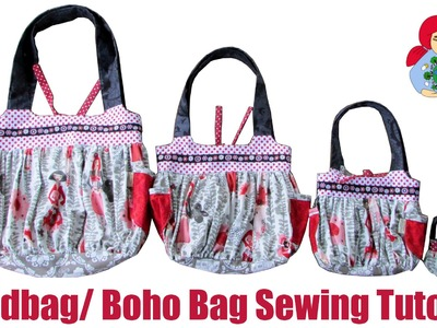 DIY | Sewing a Handbag. Boho Bag | Sami Doll Tutorials