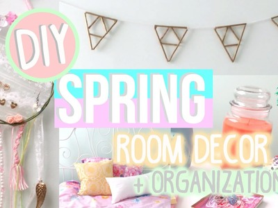 DIY Spring Room Decor+Organization-Tumblr & Urban Outfitters inspired! | Sophsensation