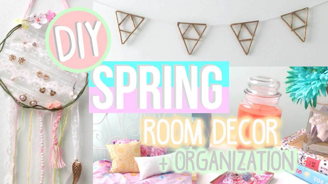 Diy Spring Room Decor Organization Tumblr Urban Outfitters