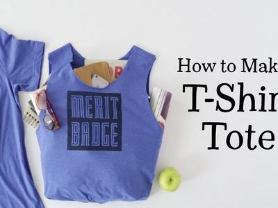 DIY T-Shirt Tote Bag—Hallmark Ideas