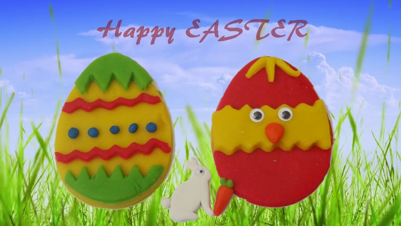 Easter Egg Fun Decorating ideas for KIDS Play-Doh Easter Eggs Creative Fun for kids DIY