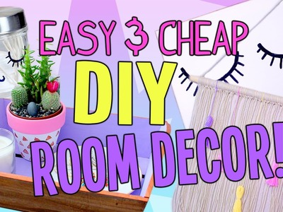 Easy DIY Room Decor | Cheap & Cute!