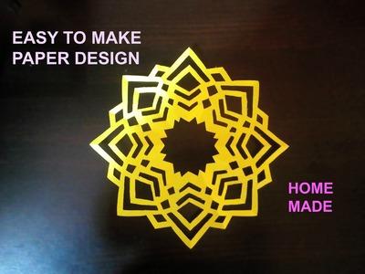 Easy to make | Paper Design | Best Kirigami Art Tutorial