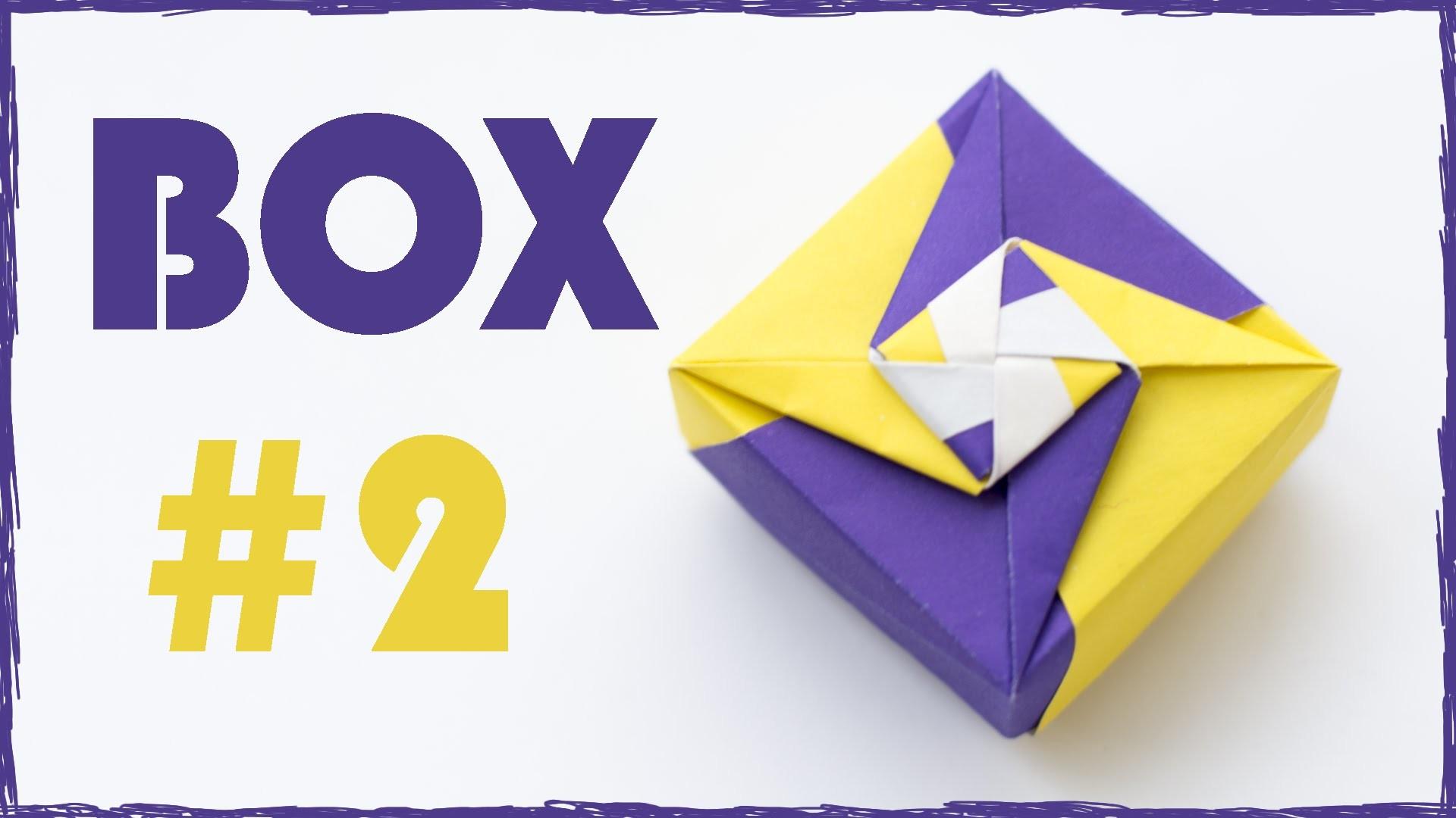 Origami Box Tutorial. Paper Box. #2 - photo#45