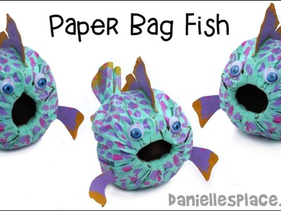 Paper Lunch Bag Fish