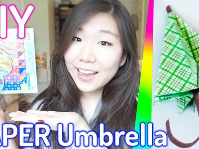 PAPER UMBRELLA ║ Cute Miniature Accessory Origami