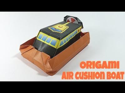 AIR CUSHION BOAT TUTORIAL | EASY SHIP ORIGAMI
