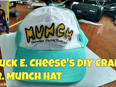 Chuck E. Cheese's DIY Craft: Mr. Munch Hat