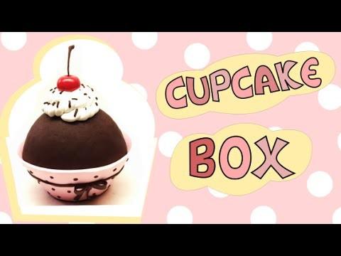 CUPCAKE BOX - Polymer clay Tutorial