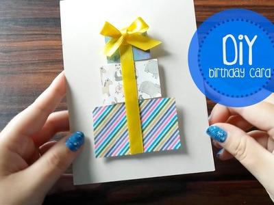 DIY - #02 Birthday card