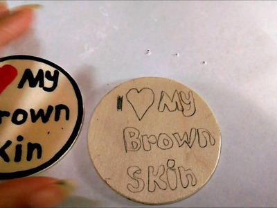 DIY #8 Making Your Own Art Stencils & Transferring to Wood