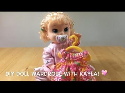 DIY Doll Wardrobe With Kayla