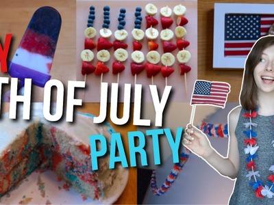 DIY Fourth of July Party! July 4th Treats & Decor!